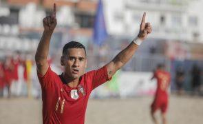 Portugal sagra-se tricampeão da Liga Europeia de futebol de praia