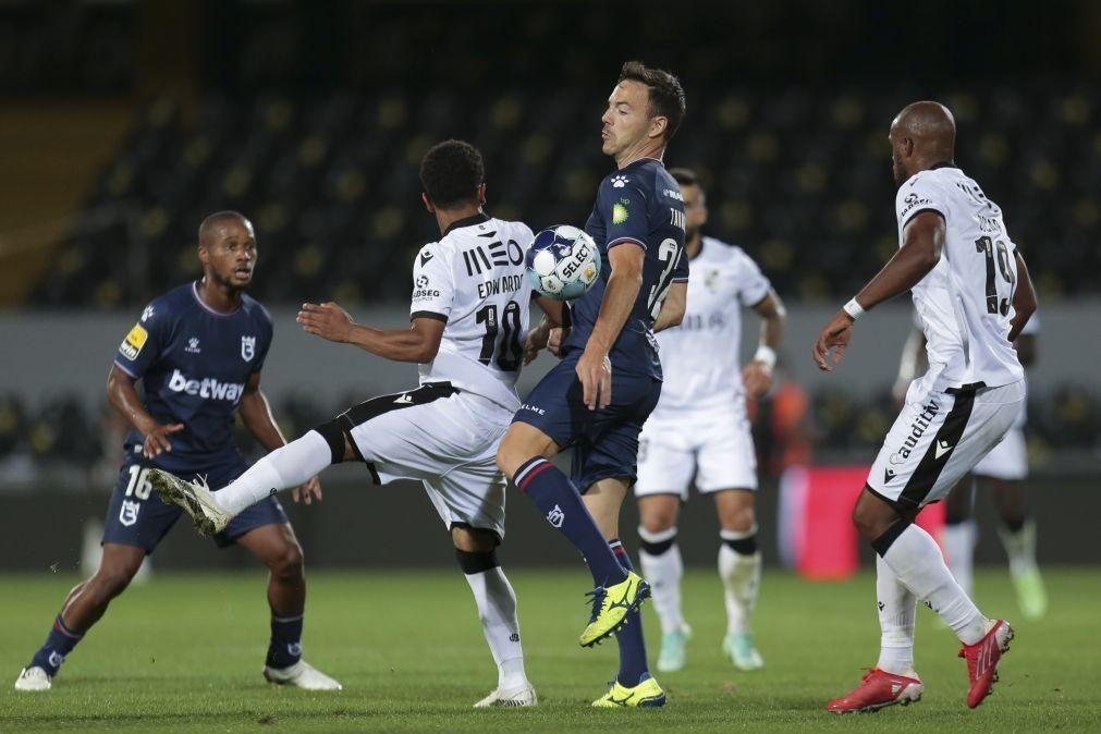 Vitória de Guimarães em inferioridade empata com Belenenses SAD