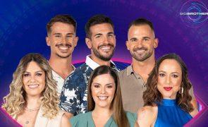 Big Brother. Seis concorrentes nomeados e em risco de expulsão
