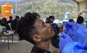 Covid-19: Um morto e 82 novas infeções em Timor-Leste nas últimas 24 horas