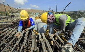 Produção na construção desacelera e cresce 4,1% em julho - INE