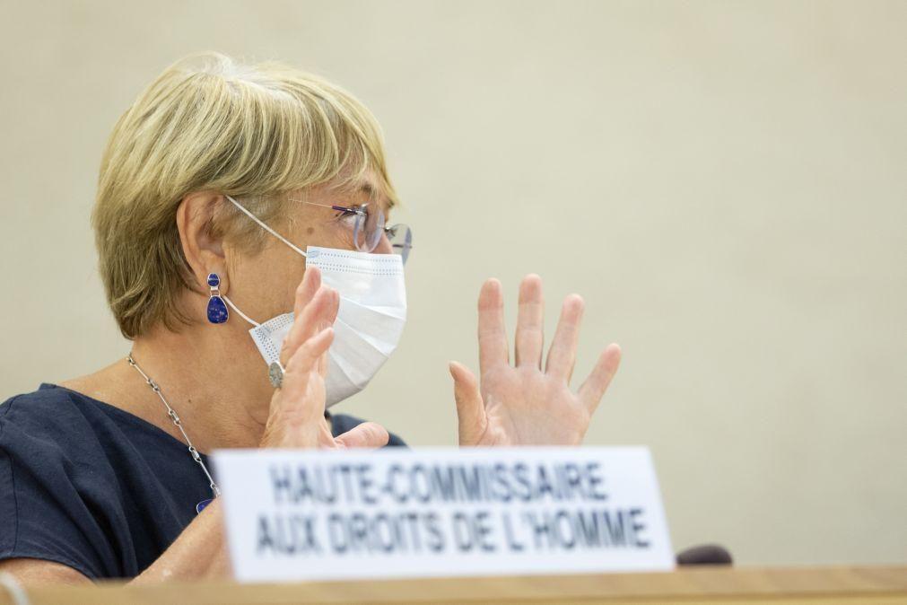 Bachelet destaca preocupação com mulheres afegãs no início do Conselho Direitos Humanos