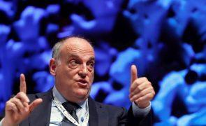 Javier Tebas aponta défice de transparência no futebol e pede revisão ética