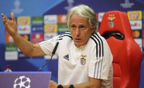 Jorge Jesus coloca Dínamo Kiev no mesmo patamar que Bayern Munique e FC Barcelona