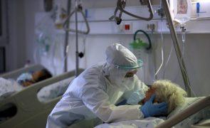 Covid-19: Mais 458 infeções, cinco mortes e mais doentes internados nas últimas 24 horas