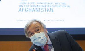 Guterres diz que Afeganistão vive