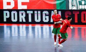 Portugal estreia-se no Mundial de futsal com triunfo sobre a Tailândia
