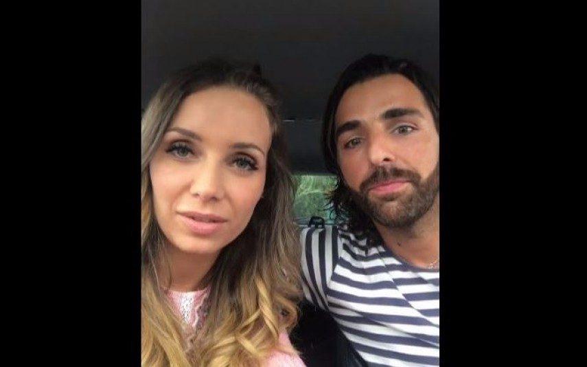 Luciana Abreu O pormenor que passou despercebido no vídeo do anúncio de gravidez