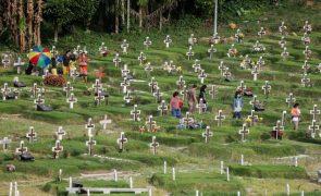 Covid-19: Pelo menos 4,6 milhões de pessoas já morreram em todo o mundo