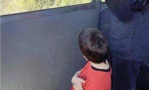 Raptado menino de 6 anos que sobreviveu a queda de teleférico