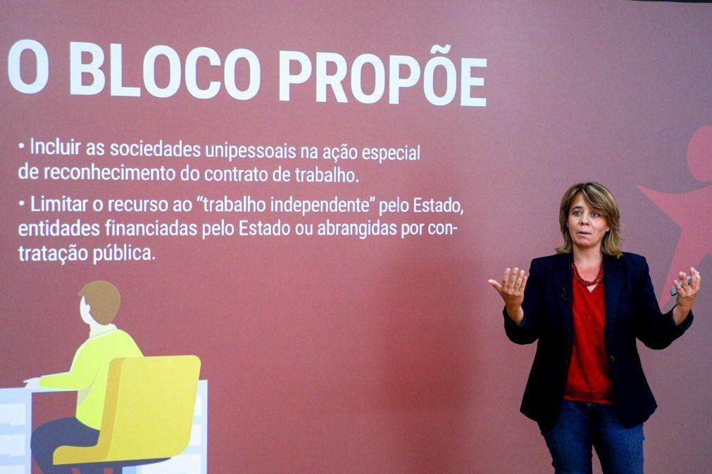 Autárquicas: Catarina Martins quer redução do preço dos passes em todo o país