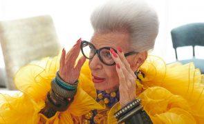Iris Apfel lança coleção com H&M aos 100 anos