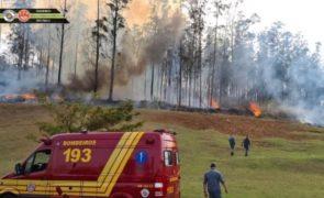 Queda de aeronave faz sete mortos em São Paulo [vídeos]