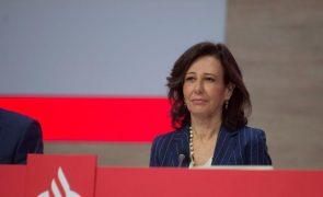 Sindicalistas internacionais pedem à presidente do Santander solução que evite despedimentos