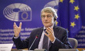 Presidente do Parlamento Europeu ausente hoje do plenário devido à doença