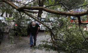 Noite de mau tempo provoca inundações, queda de árvores e desalojados
