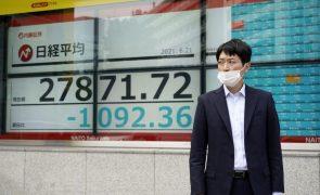 Bolsa de Tóquio fecha a perder 0,52%