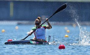Canoísta Teresa Portela quer bons mundiais, mesmo sem a mesma exigência olímpica