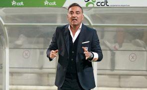LE: Carlos Carvalhal garante Sporting de Braga destemido para ganhar na Sérvia
