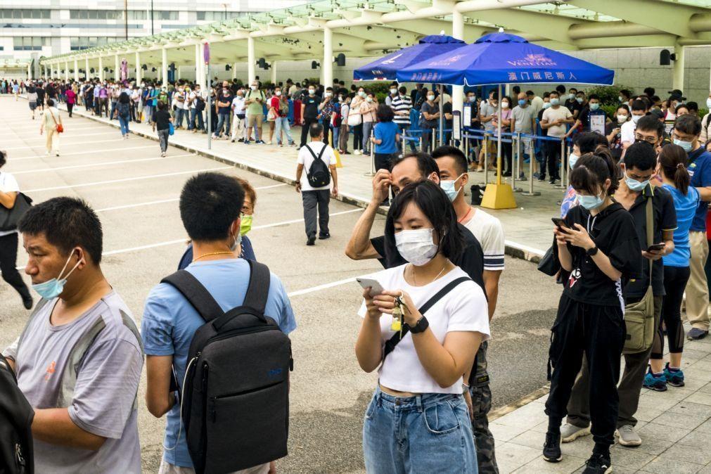 Covid-19: Macau dá Portugal como exemplo e apela à vacinação para aliviar restrições
