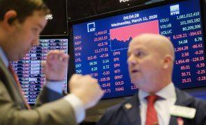 Wall Street negoceia em queda no início da sessão