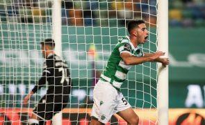 Gonçalo Inácio, defesa do Sporting, tem uma entorse no pé direito