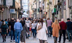 Covid-19: Perceção dos portugueses do risco da pandemia baixou - barómetro