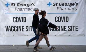 Covid-19: Reino Unido regista 158 mortes nas últimas 24 horas