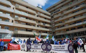 Bancários do BCP e do Santander em greve no dia 01 de outubro contra despedimentos