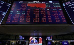 Wall Street negoceia em baixa no início da sessão