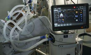 Covid-19: Infeções, mortalidade e pressão hospitalar com tendência decrescente