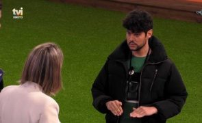 Big Brother Bruno salta a tampa e confronta Ana Morina: