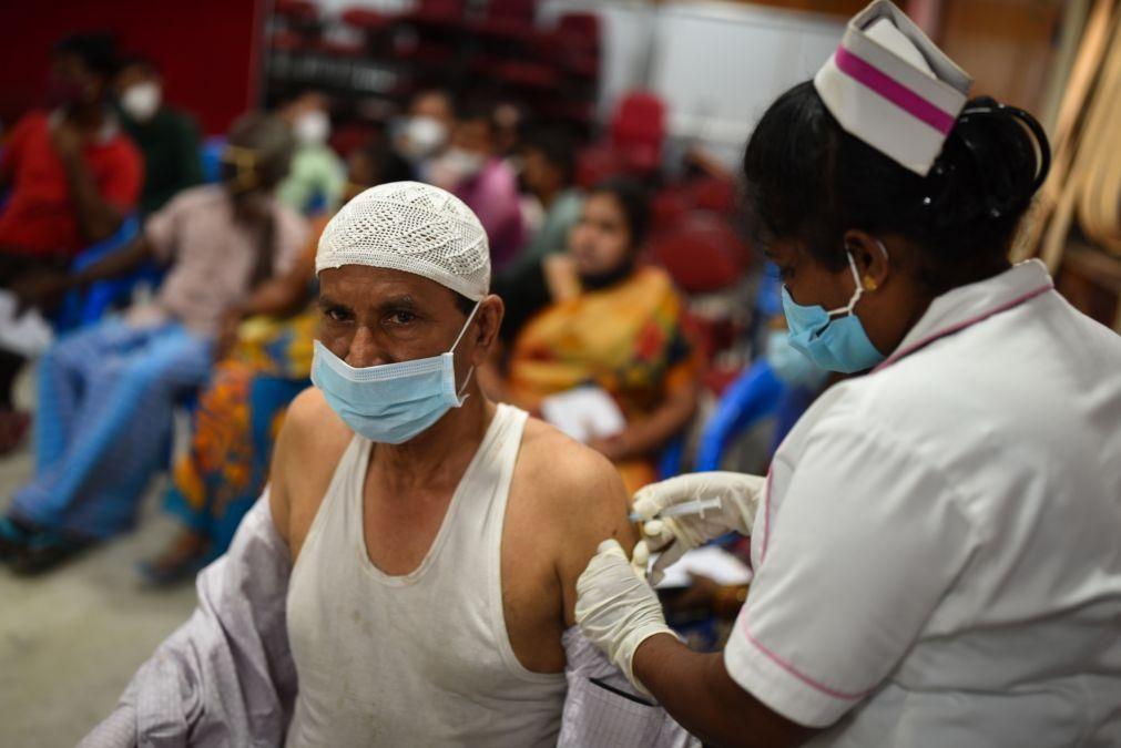 Covid-19: Índia assinala aniversário do primeiro-ministro com 25 milhões de vacinas