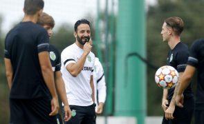 Rúben Amorim garante Sporting preparado para reagir no Estoril à derrota com Ajax