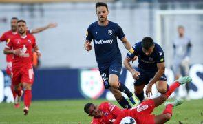 Belenenses SAD e Gil Vicente empatam a um golo em Leiria