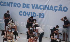 Covid-19: Mais de 76 mil vacinas administradas hoje até às 19:00
