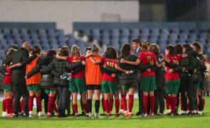 Portugal soma em Israel primeiro triunfo na corrida ao Mundial feminino de 2023