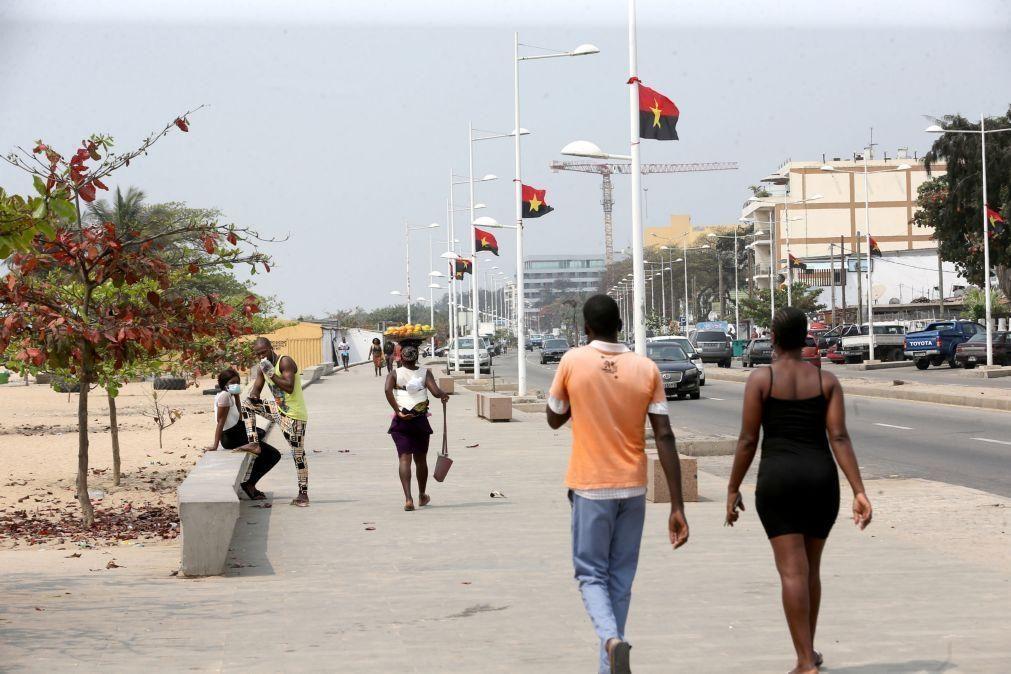 Covid-19: Angola com 116 novas infeções e três mortes nas últimas 24 horas