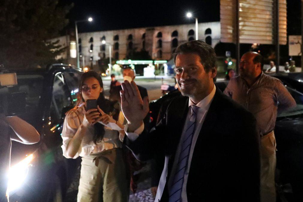 Autárquicas: Ventura diz que PSD está