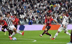 AC Milan empata com Juventus e falha assalto à liderança isolada