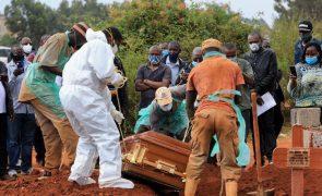 Covid-19: África regista mais 253 mortos e 9.738 infeções nas últimas 24 horas