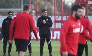 Spartak de Rui Vitória volta a perder para a Liga russa