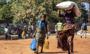 Moçambique/Ataques: Um terço do orçamento do ACNUR está por financiar