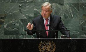 ONU: Guterres pede cooperação porque mundo nunca enfrentou tantas ameaças