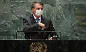 ONU: Jair Bolsonaro defende tratamento sem validação científica para conter pandemia