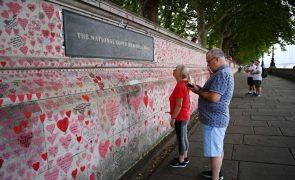 Covid-19: Reino Unido regista 203 mortes nas últimas 24 horas