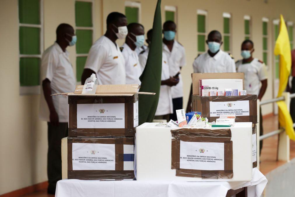 Covid-19: Mais uma morte e 18 novas infeções em São Tomé e Príncipe
