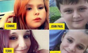 Mata namorada e três crianças após dormir em casa da família