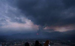 Dióxido de enxofre do vulcão de La Palma chega sexta-feira a costa mediterrânica