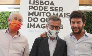 Autárquicas: Líder do CDS diz que opção em Lisboa é entre